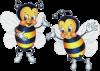 L'histoire de la petite fée Lyse et de la petite abeille.