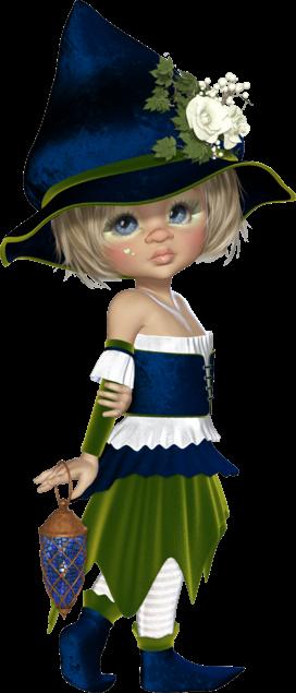 D'adorables petits elfes.