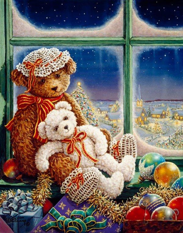 Quand Noël approche les enfants sont en joie!