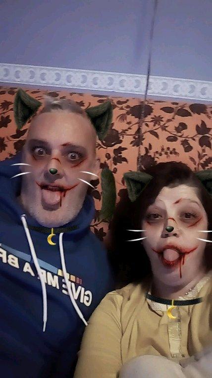 Petit délire d Halloween avec mes enfants et mon chéri