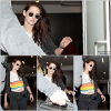 06.05.12: Kristen à l'aéroport de Los Angeles direction New-York pour le MET Gala de demain.
