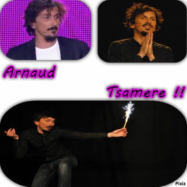 Soutien pour Arnaud Tsamere