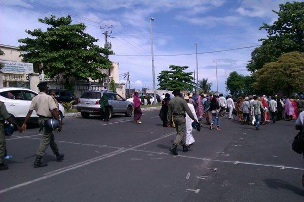 Manifestation contre l injustice