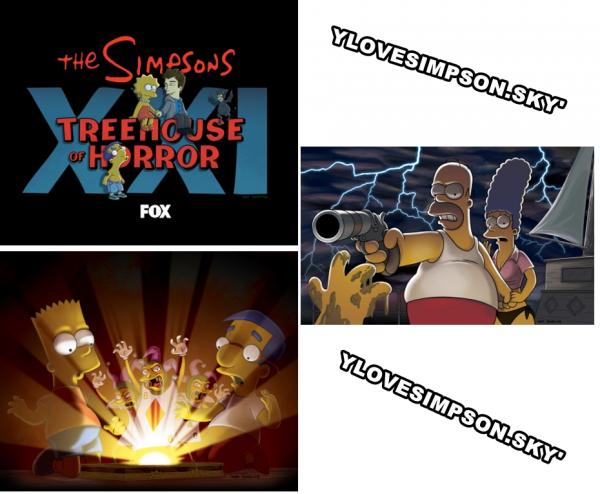 """Trois nouvelles images de """"Treehouse of Horror XXI"""""""