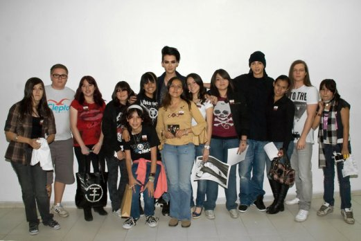 02.12.2010 - Meet & Greet à Mexico City (Mexique)
