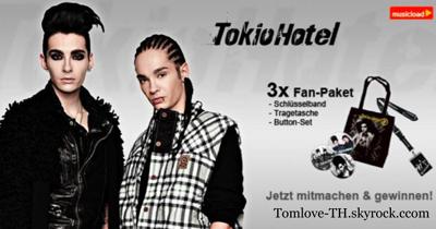 14.12.2010- Article sur TokioHotel.de