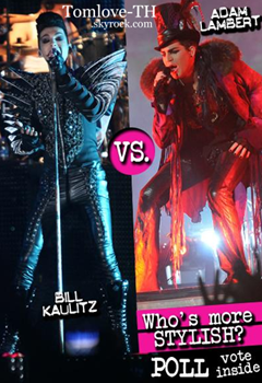 Bill Kaulitz VS Adam Lambert