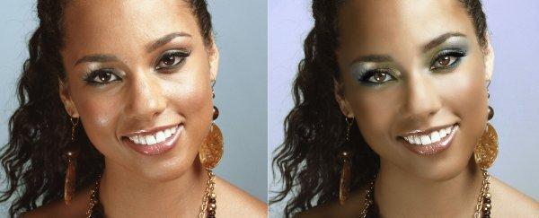 Alicia Keys avant/après