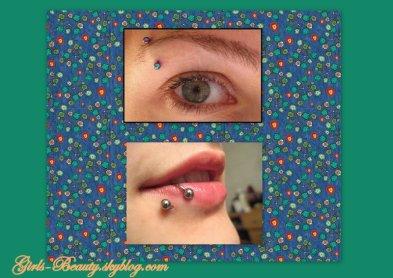 BEAUTÉ : Les piercings