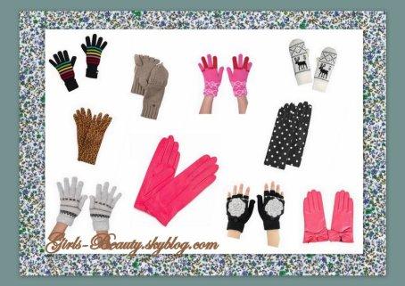 LOOK : Les gants