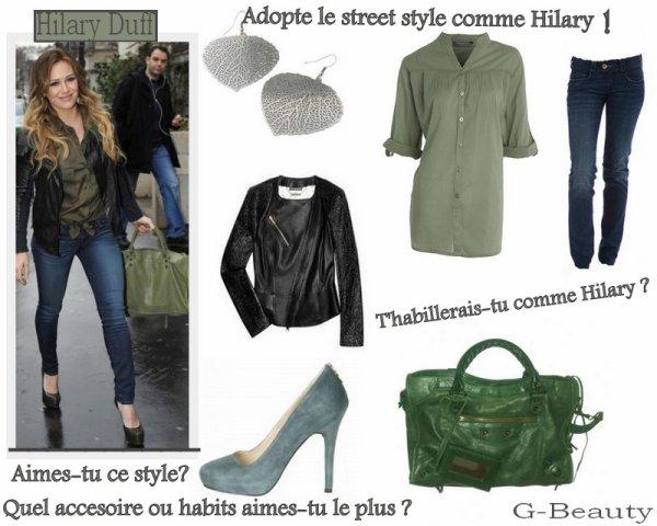 LOOK : Voilà enfin l'article que vous attendiez impatiemment ! Donc j'ai décortiqué la tenue de Hilary Duff et voilà ce que ça donne! Donnez-moi vos avis et répondez aux questions :D