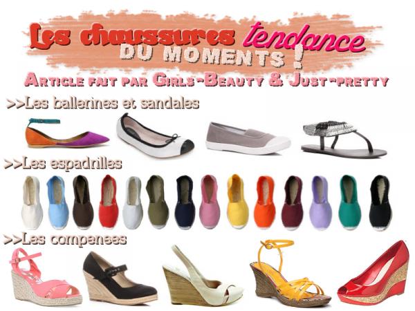 LOOK : Les chaussures tendance du moments !