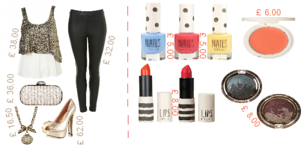 LOOK & MAKE UP :  Spéciale TOPSHOP
