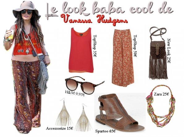 MAKE UP & LOOK : Spéciale Vanessa Hudgens