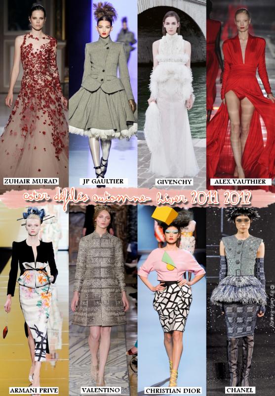 LOOK : Les défilés haute couture Automne Hiver 2011-2012 ! Vos avis, une préférence ?