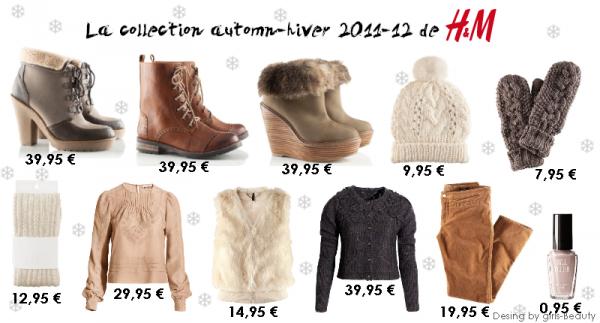 LOOK : La collection Automne-Hiver 2011-12 de H&M ! Vous en pensez quoi ?