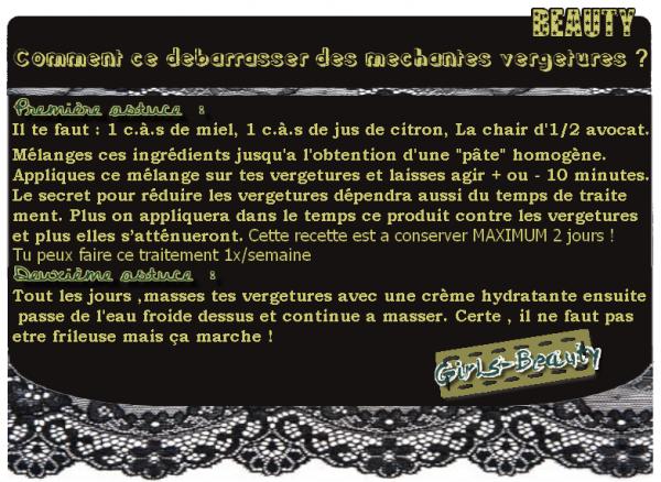 BEAUTE : Stop aux vergetures !