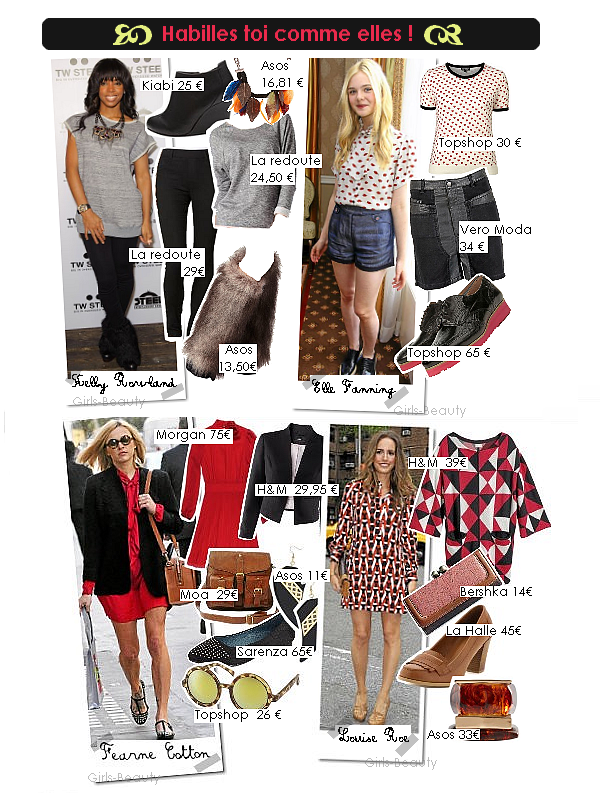 LOOK : Description de quatre style de stars. Vos avis ?