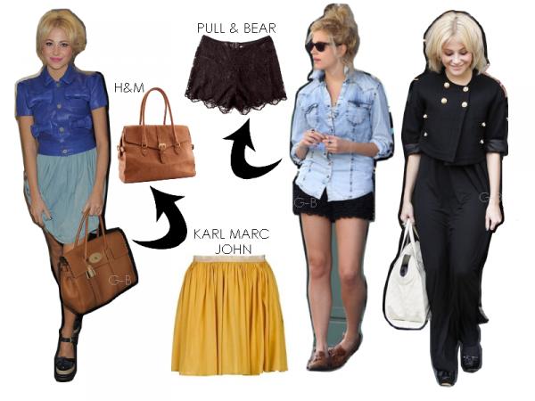 LOOK & PEOPLE : Le British'style de Pixie lott. Tu aimes ou pas ?