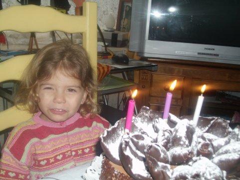 voial ma niece fete son aniversaire  3 ans