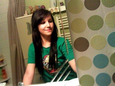 Moi avec les cheveux long