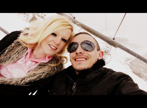 Moi en Soirée on the dance floor  avec mon ken ^^ apres le ski