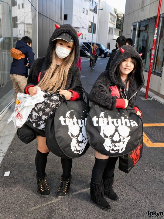 envie de porté des vêtement kawaii ^^ !!!