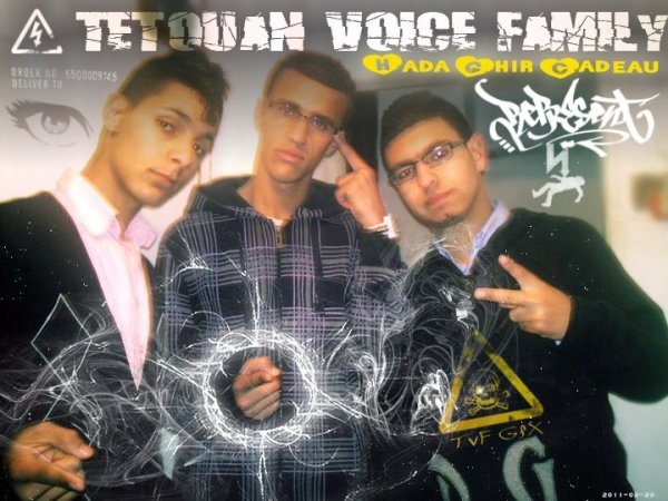 "Neuveau Titre De Tetouan Voice Family "" Cadeu "" 2011"