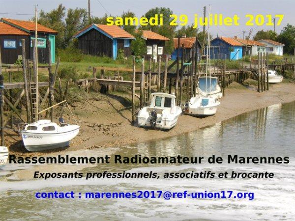 Salon Radioamateur de Marennes - REF 17 (29/07/2017)