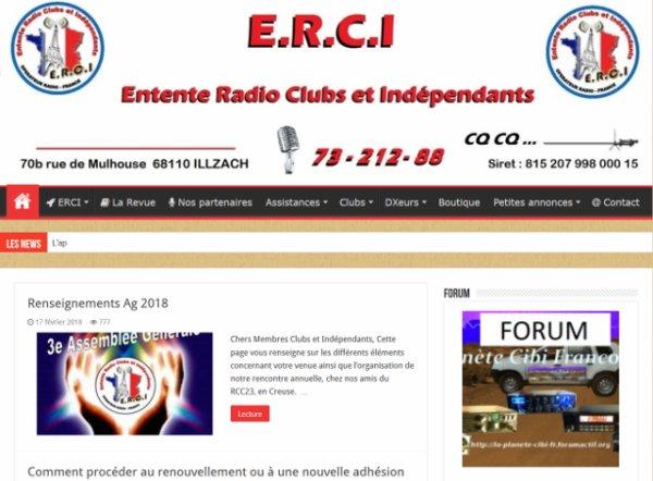 Le groupe 'ERCI' & le forum 'La Planète Cibi Francophone'