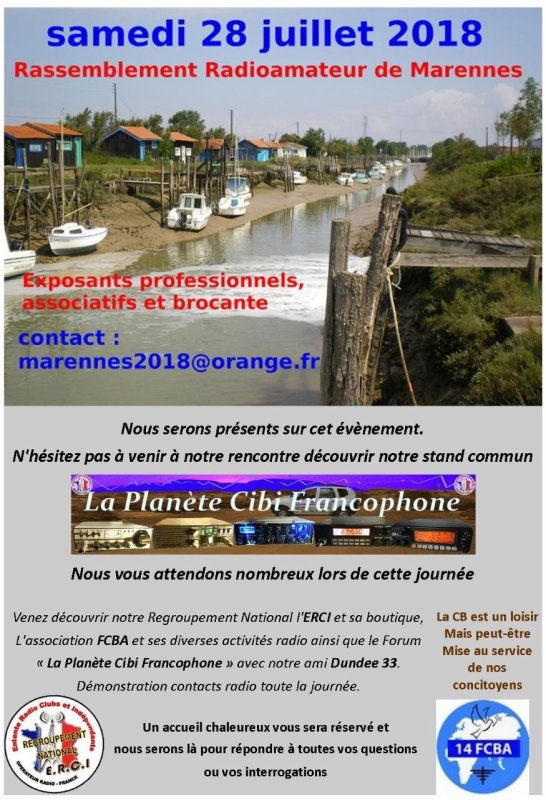 Salon du REF17 Marennes 2018 (dpt.17) (28 juillet 2018)