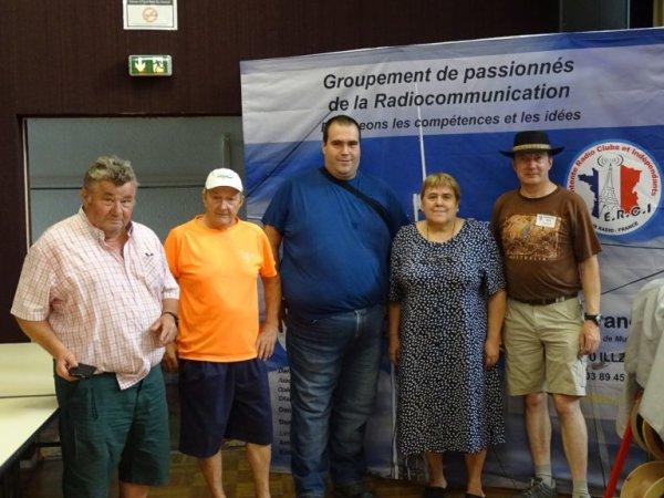 Salon du REF17 Marennes 28 07 2018 avec ERCI/FCBA33/La Planète Cibi Francophone