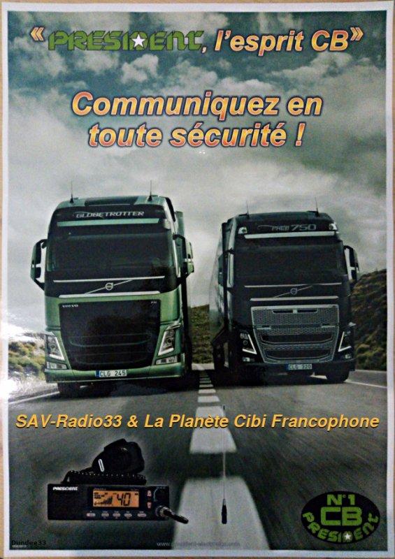 Restez en contact entre professionnels de la route.
