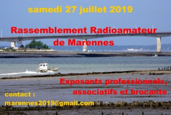 Salon du REF17 Marennes 2019 (dpt17) (27 juillet 2019)