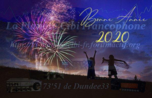 Meilleurs v½ux et bonne année 2020