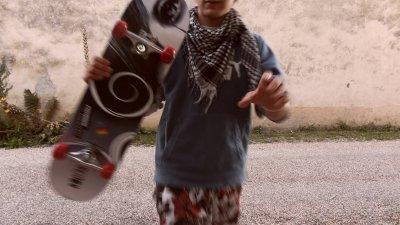 moi et mon skate