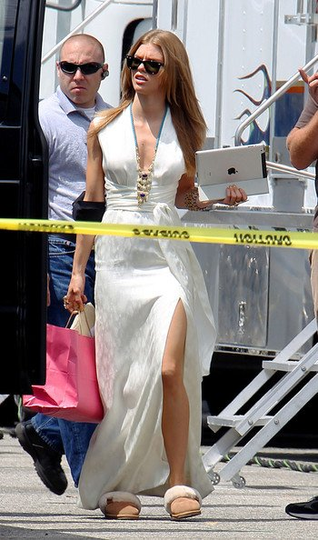 AnnaLynne McCord pleine d'énergie à Los Angeles, le 2 août 2011.