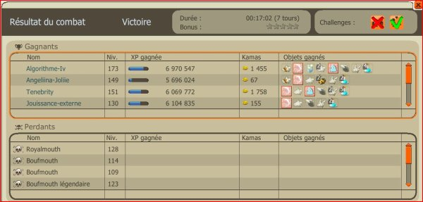 Fini de xp .. ;) Place au drop !