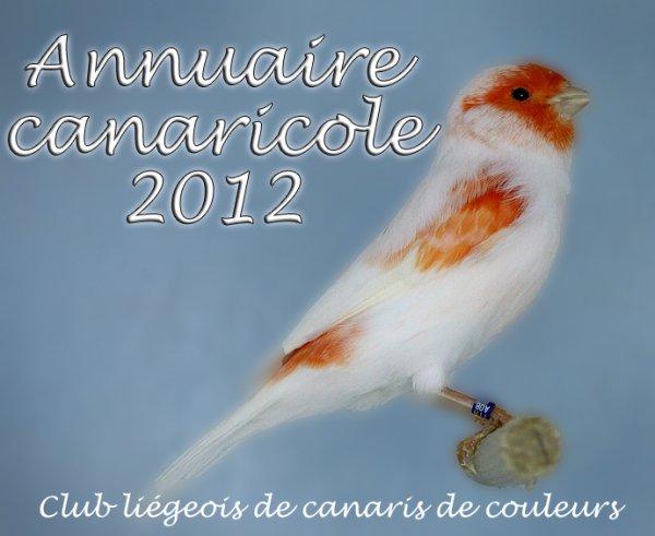 L'annuaire canaricole 2012
