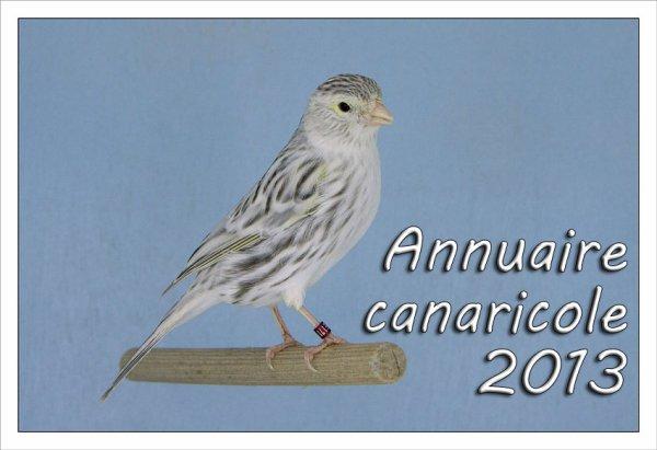 L'annuaire canaricole 2013