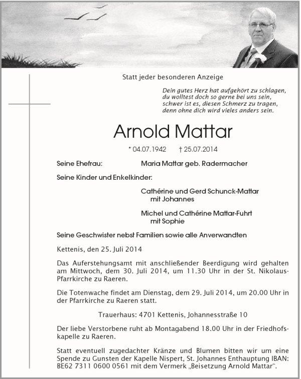 Au revoir Arnold...