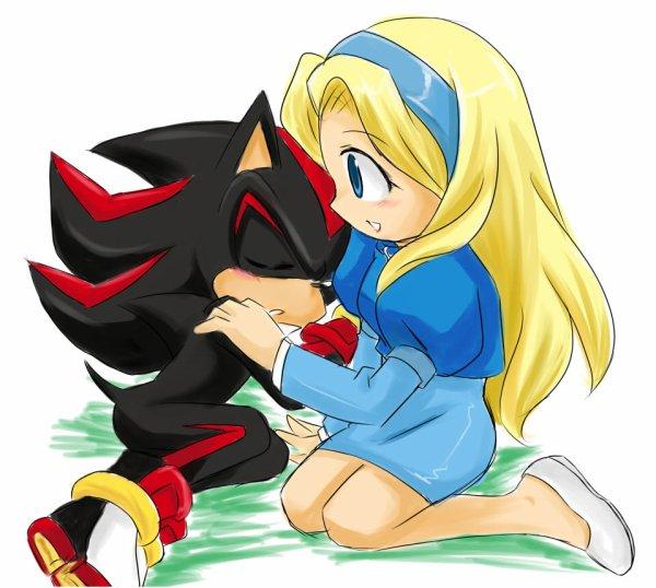 Mon avis sur les couples dans Sonic .