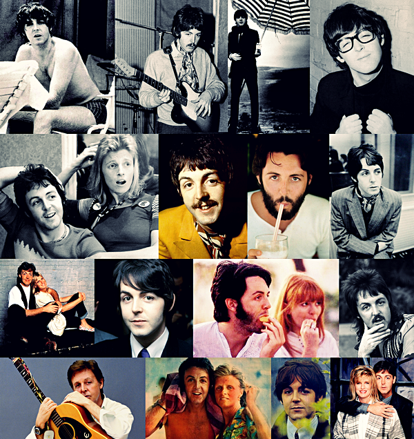 """Paul McCartney est né le 18 juin 1942 à Liverpool, il est le principal compositeur avec John Lennon du groupe.. Il a composé énormément de tubes, dont entre autre Let It Be, Hey Jude, Yesterday, Blackbird, Sgt. Peppers Lonely Heart Club Band, Lovely Rita etc.. ! Après la séparation du groupe en 1970 il forme le groupe """"Wings"""" avec entre autre sa femme Linda qui rencontre le succés. Depuis il continue brillament sa carriere en solo, il a effectué de nombreuses tournée mondial, ou il reprends ses succés ainsi que ceux du groupe. Son nouvel album devrait sortir début 2014."""