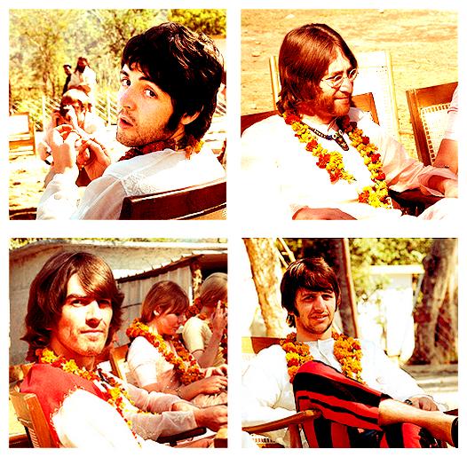«  Le fait est que nous sommes vraiment la même personne.. Nous sommes juste les quatre parties du même tout.. ! » - Paul McCartney ♥