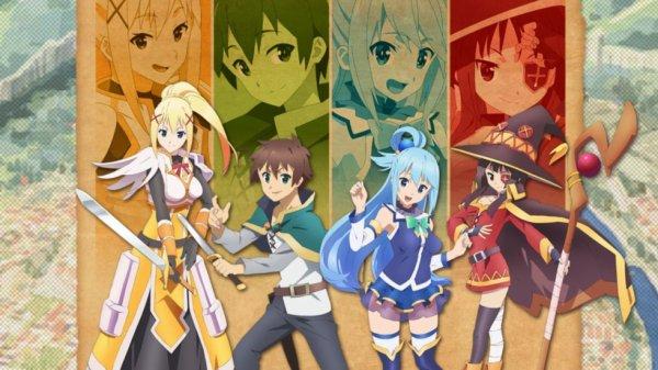 Kono Subarashii Sekai ni Shukufuku wo! New Anime Project