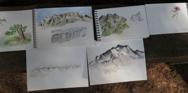 L'Atelier au Val d'Hérins en aout