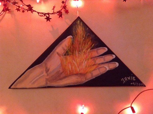 la chaleur d'une main
