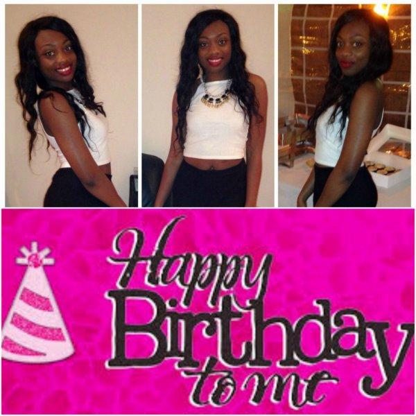 happy birthday to myself xxxx