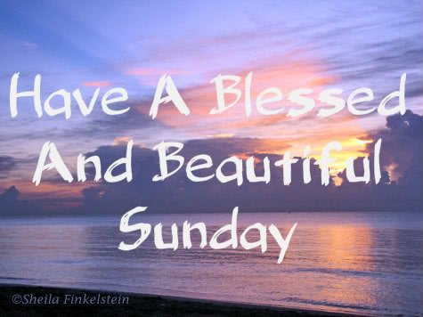 have a blessed sunday loves ♥
