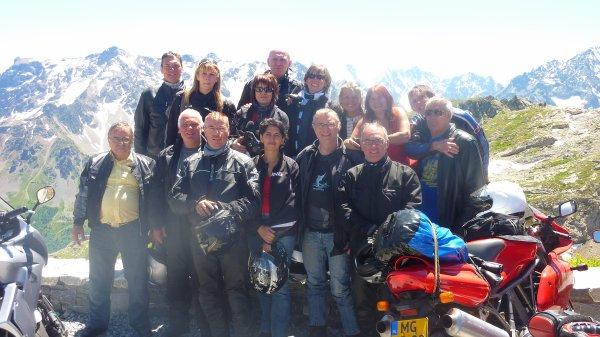 Week-end moto France Italie